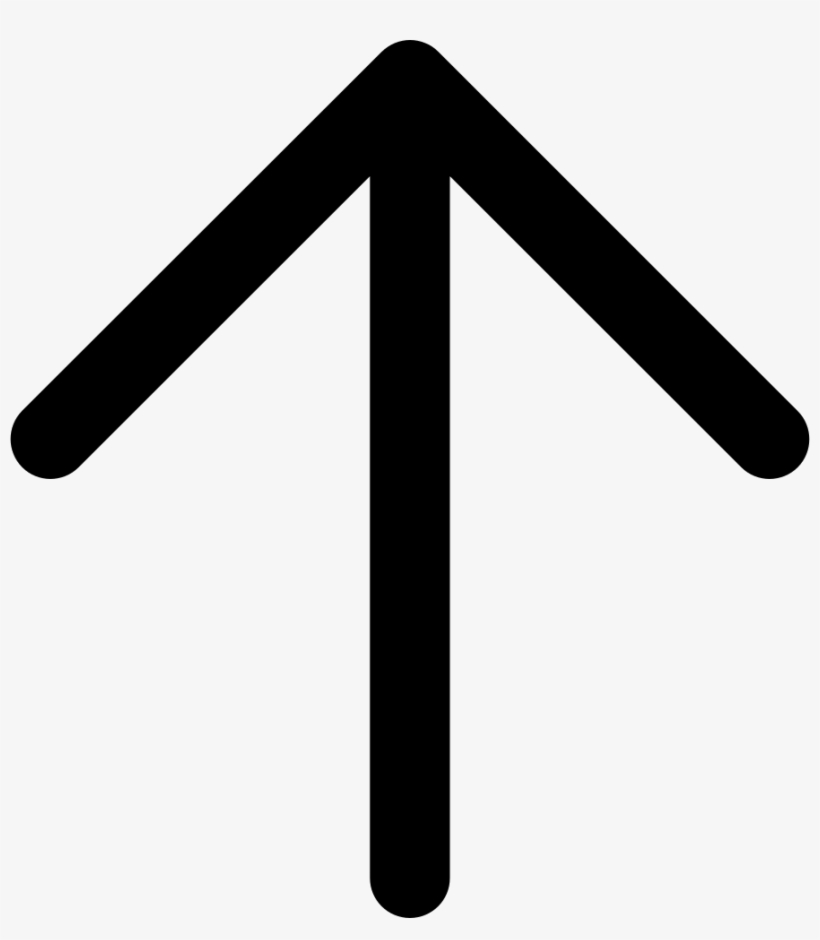 Png File - Upwards Arrow Icon Png Transparent PNG - 892x980 - Free ...
