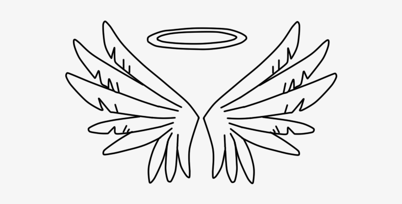 Clip Free Angel Drawing At Getdrawings Com Free For - Draw A