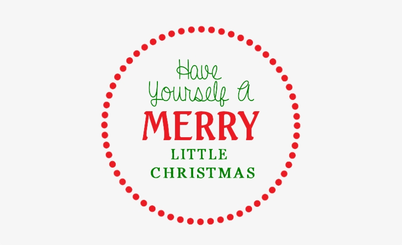 photo about Merry Christmas Printable called Merry Xmas Printable Tags - Circle Clear PNG