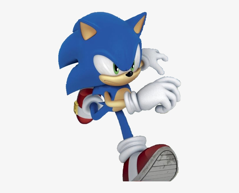 Sonic Running Cartoon Transparent Png 470x607 Free Download On Nicepng