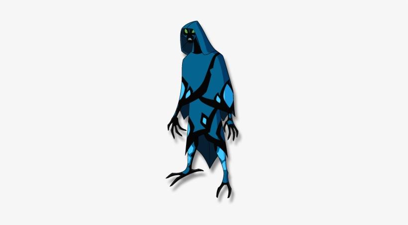 Bigchill - Ben 10 Alien Force Big Chill Transparent PNG - 293x462