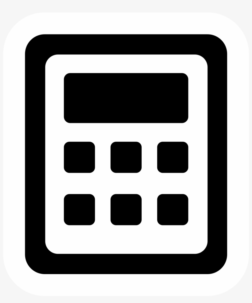 Icon Request - Creative Commons Calculator Icon Transparent PNG