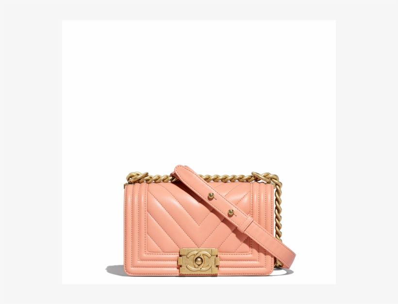 36ee20b9725b Chanel Orange Chevron Boy Chanel Small Flap Bag - 2018 鹿 皮 Chanel ...