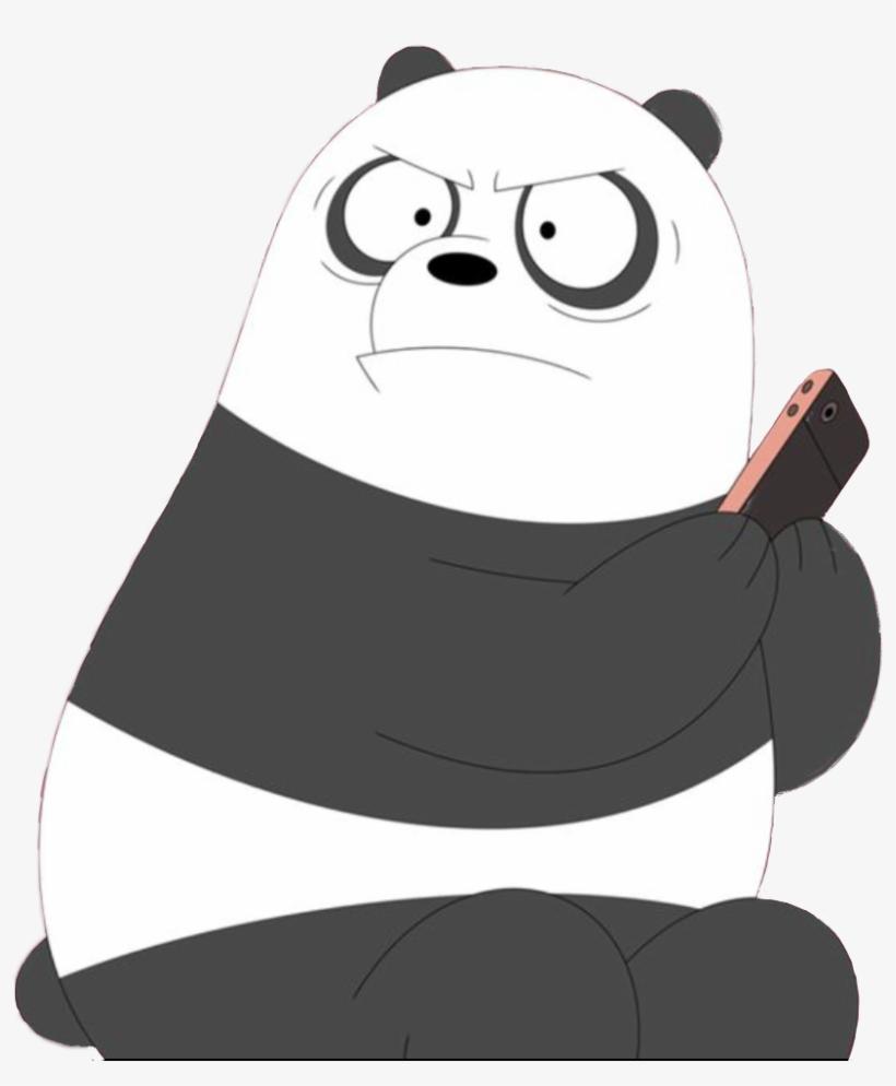 Panda Escandalosos Webarebears Freetoedit We Bare Bears