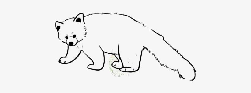 Red Panda Lines By Purripurrito On Deviantart Jpg Royalty Easy