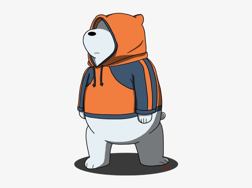 Image We Bare Bears Ice Bear With Amnesia Transparent Png