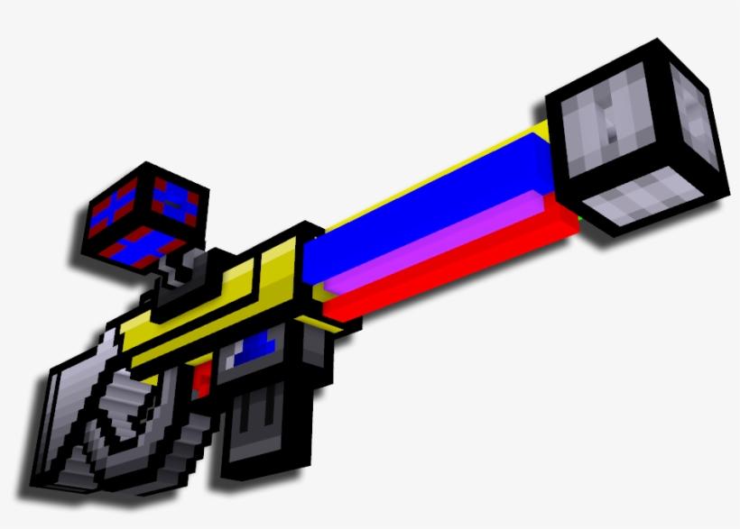 Impulse Rifle - Impulse Rifle Pixel Gun 3d Transparent PNG