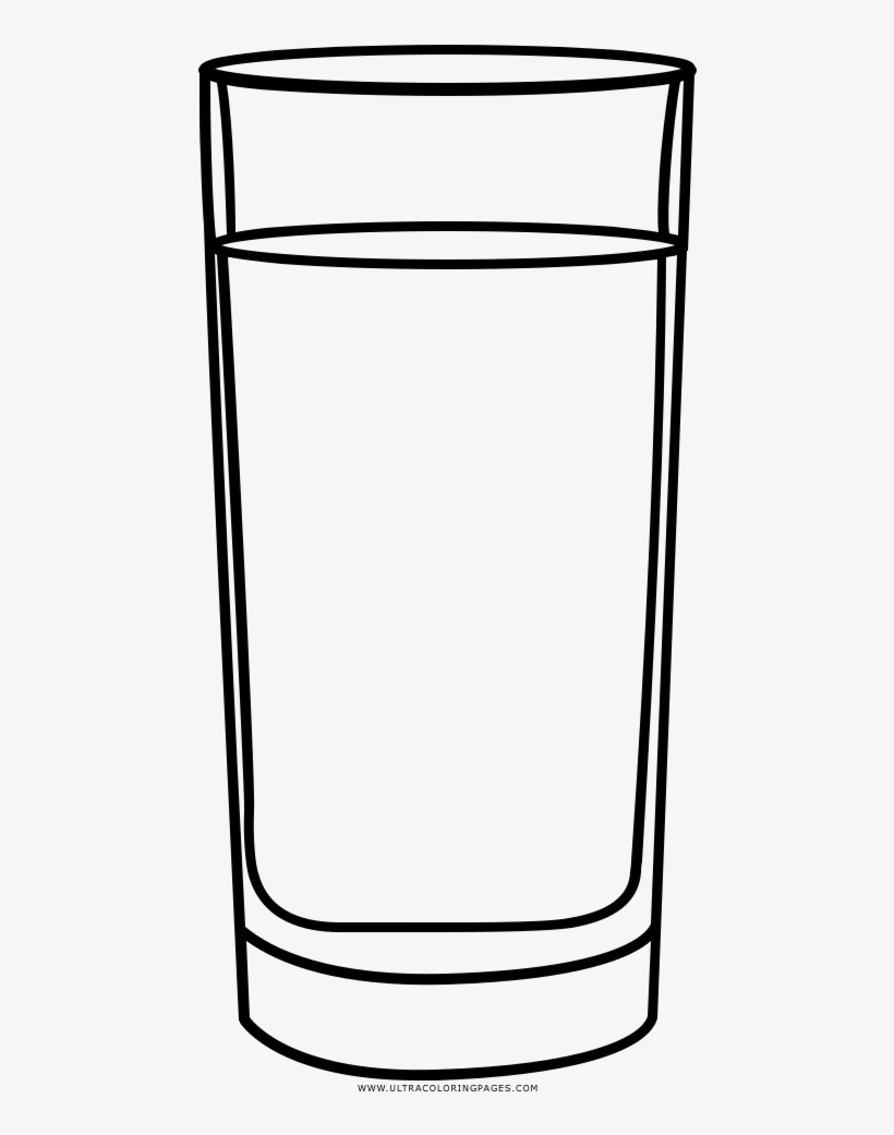 Vector Black And White Drawing Cup Coloring Book Transprent
