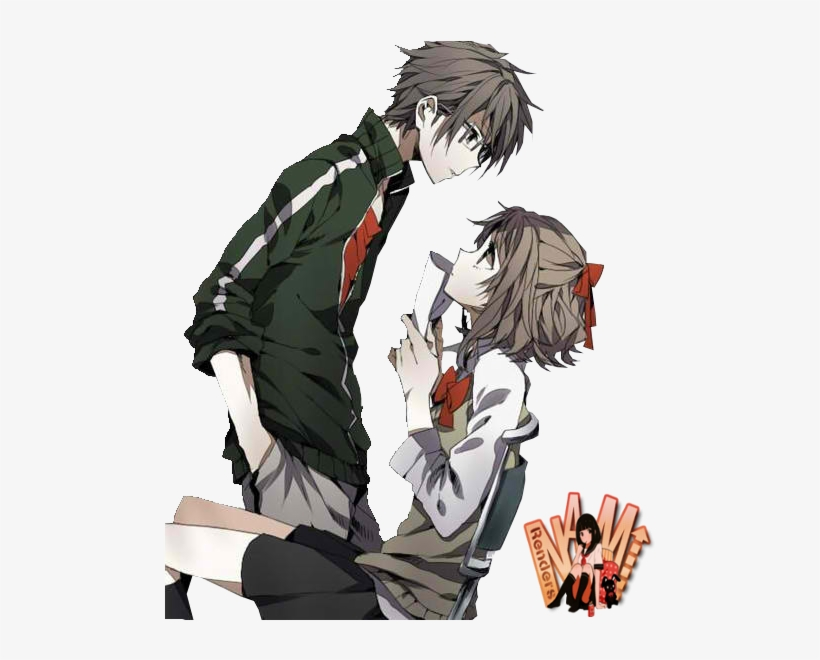 Anime Couple For Free Download On Mbtskoudsalg Png Anime Couple Transparent Png Transparent Png 500x580 Free Download On Nicepng