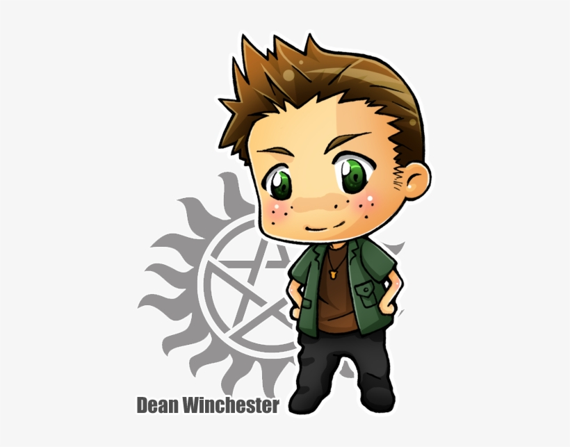 Chibi Dean Winchester By Sefi Supernatural No Timebo Mala