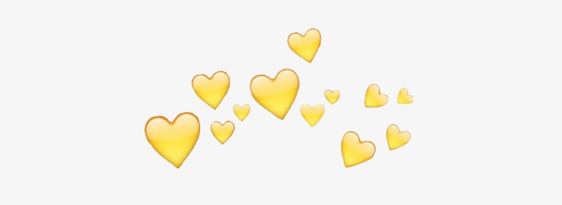 Download Yellow Heart Emoji Png Png Amp Gif Base