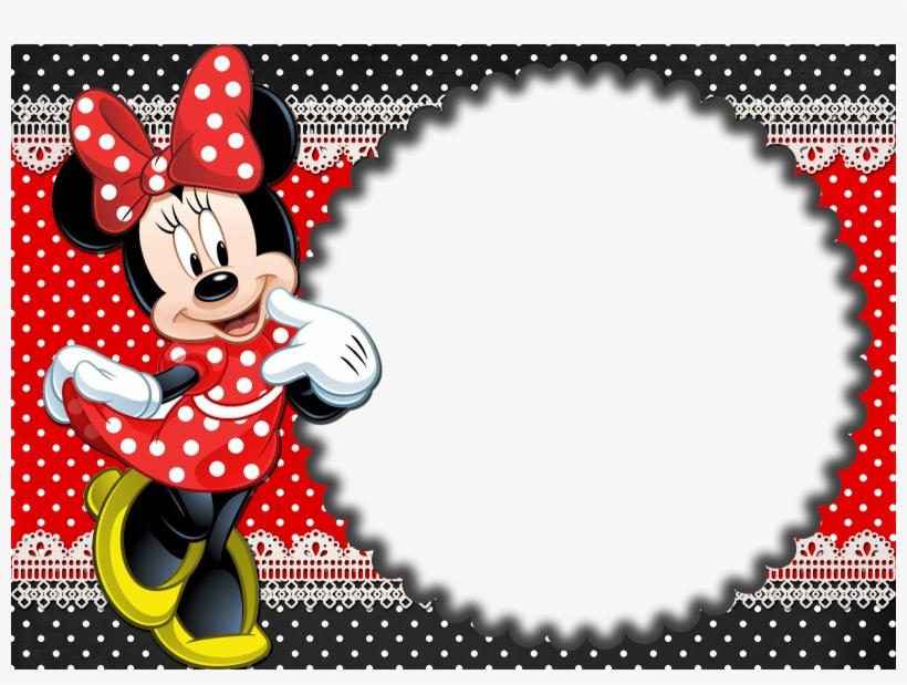 Moldura Minnie Png Clipart Minnie
