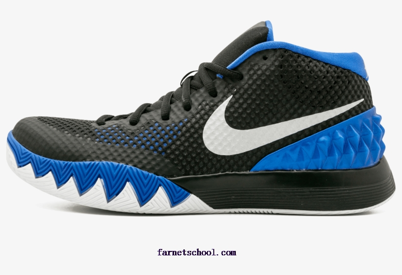 brand new b1a07 1ab0e Mens Nike Kyrie 1 Shoes Lyn Bl,mtllc - Shoe, transparent png download