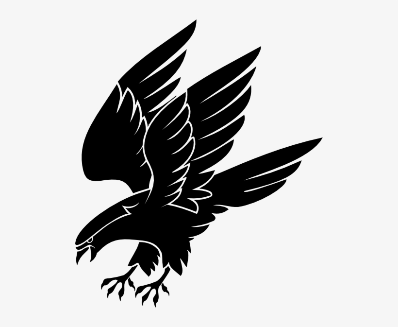 Png Free Simple Falcon Clipart - Falcon Clip Art Transparent PNG - 510x593  - Free Download on NicePNG