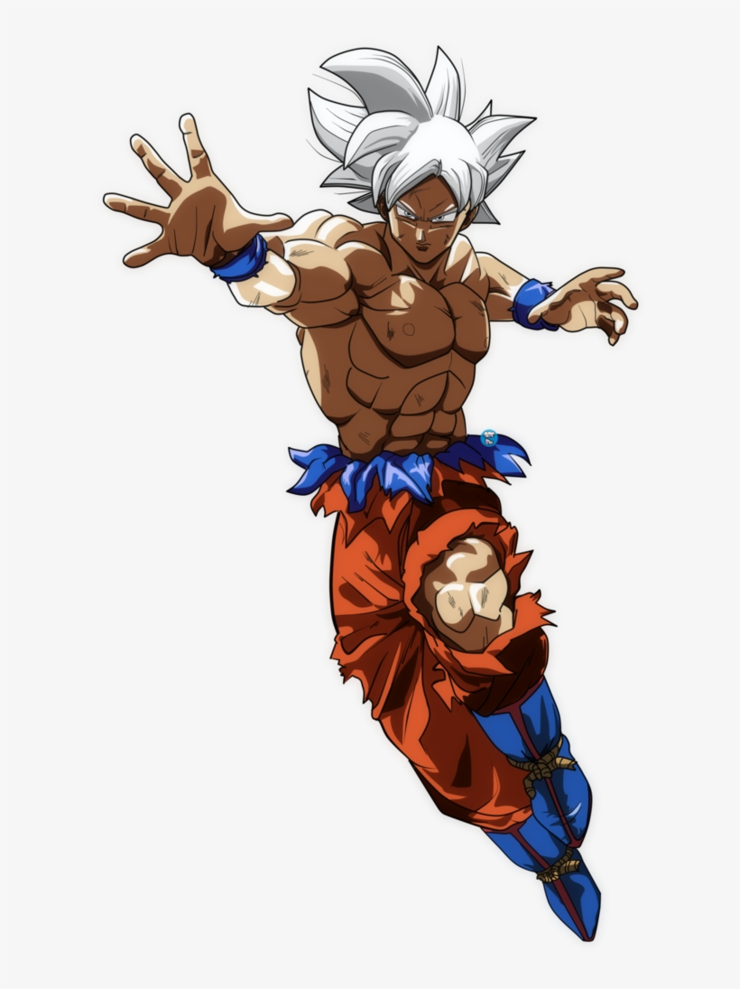 Ultra Instinct Goku Png Mastered Ultra Instinct Goku Fanart