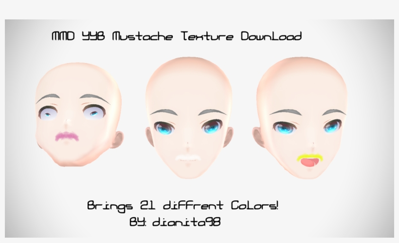 Vector Transparent Library Drawing Beards Skin Texture - Mmd