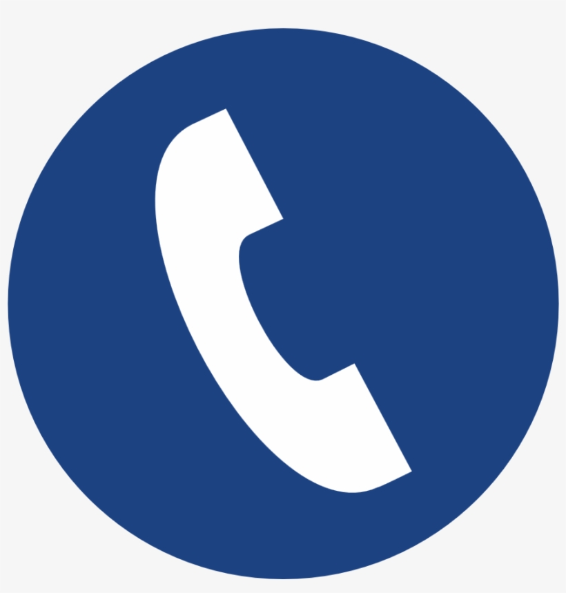Clipart Resolution 1240*879 - Telephone Icon Png Blue