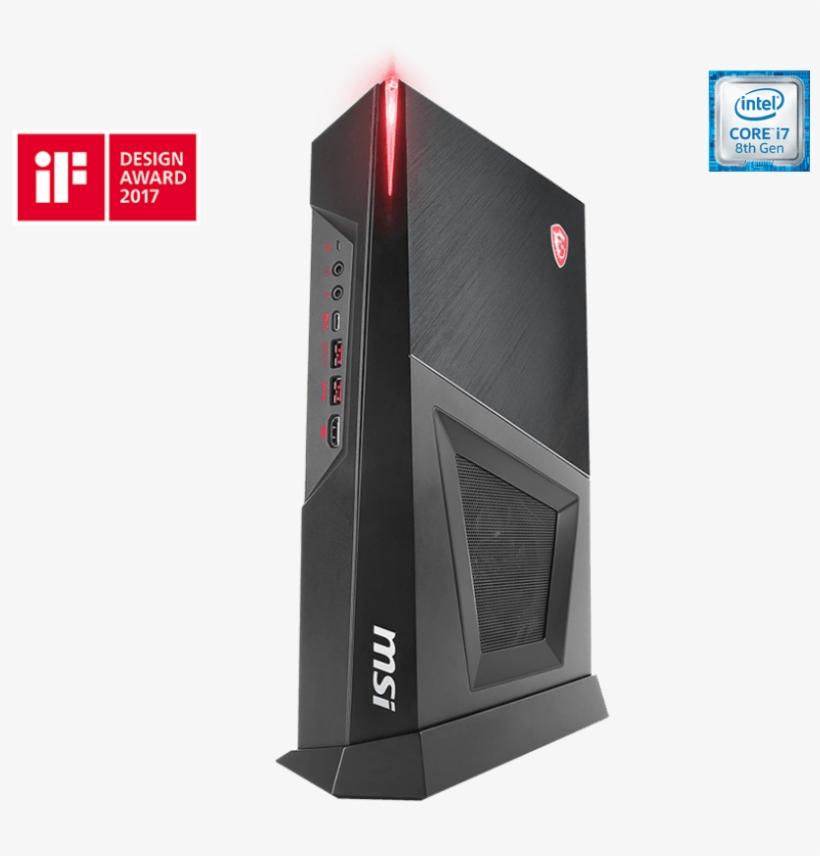 Trident Series Desktop Trident 3 8th - Msi Trident 3 8th Transparent