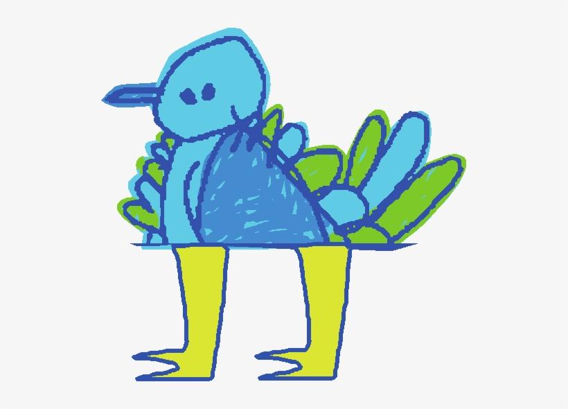 Noggin Bird - Noggin And Nick Jr On Demand Transparent PNG