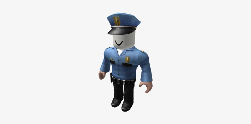 Officerblox Roblox Police Officer Png Transparent Png 420x420