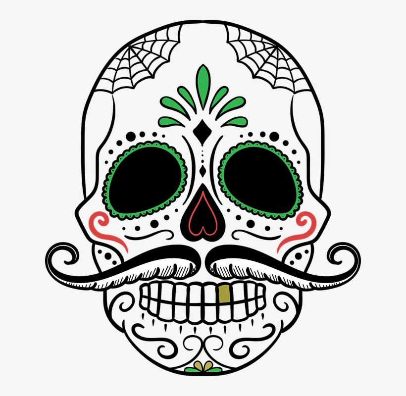 Free Image On Pixabay Skull Designs Day Of The Dead Transparent
