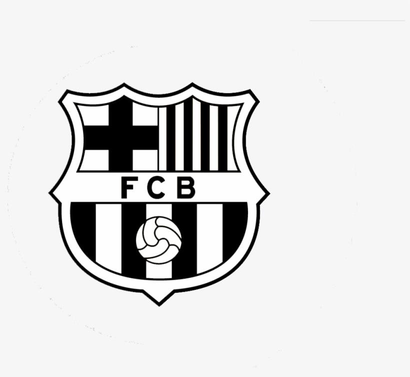 Fc Barcelona Png - Fc Barcelona Logo White Png Transparent ...