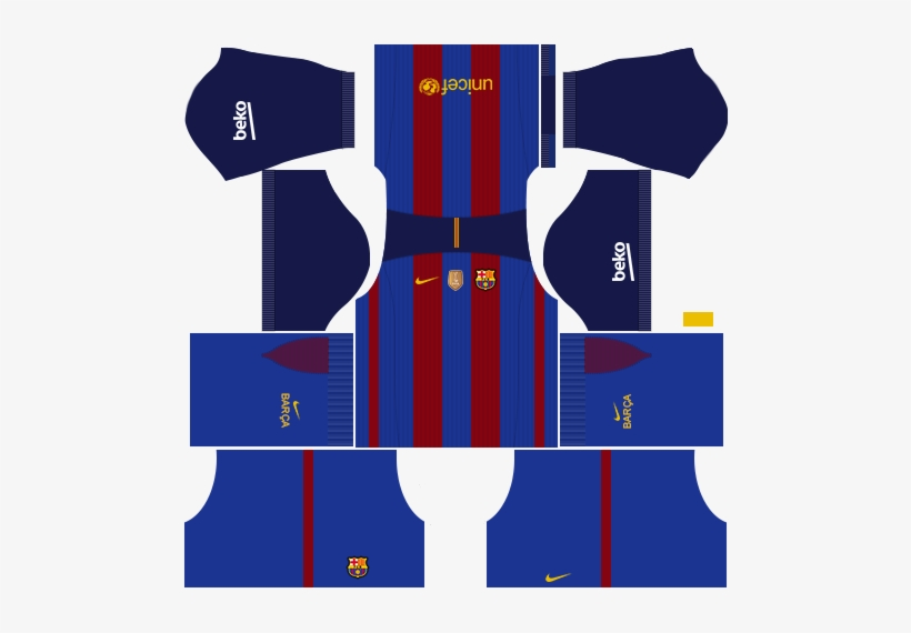 wholesale dealer 67100 3c618 Fc Barcelona Kit - Dream League Soccer 512x512 Kits ...