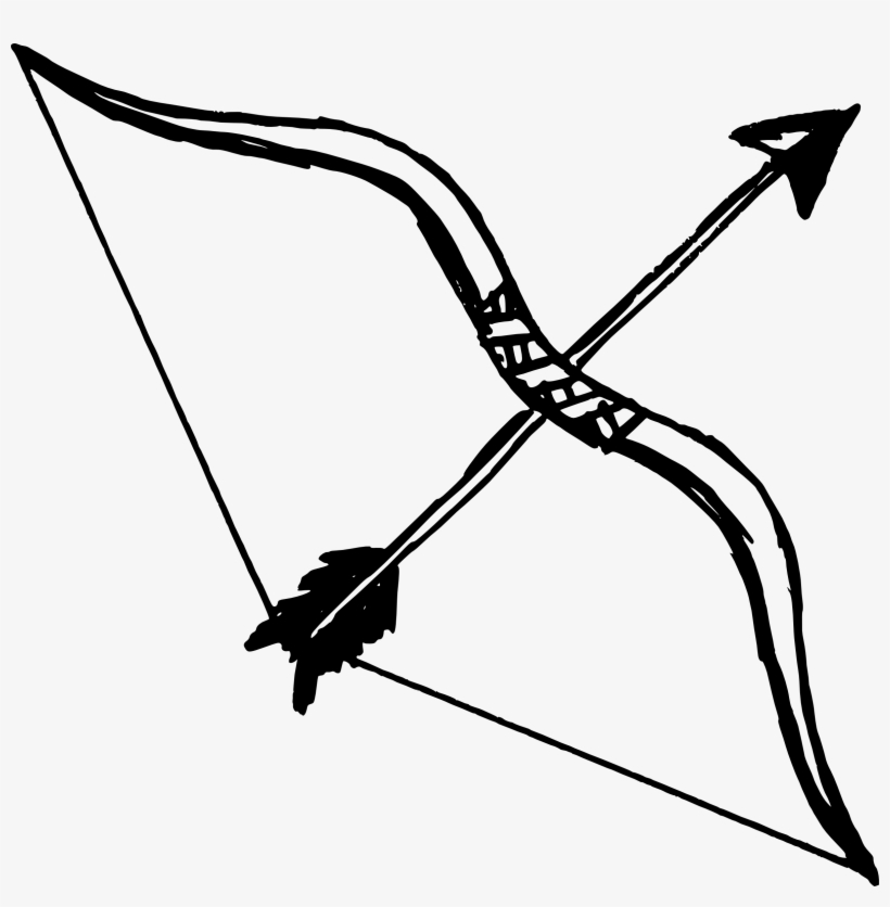 Vector Free Bow And Arrow Transparent Png Pictures - Bow And Arrow ...