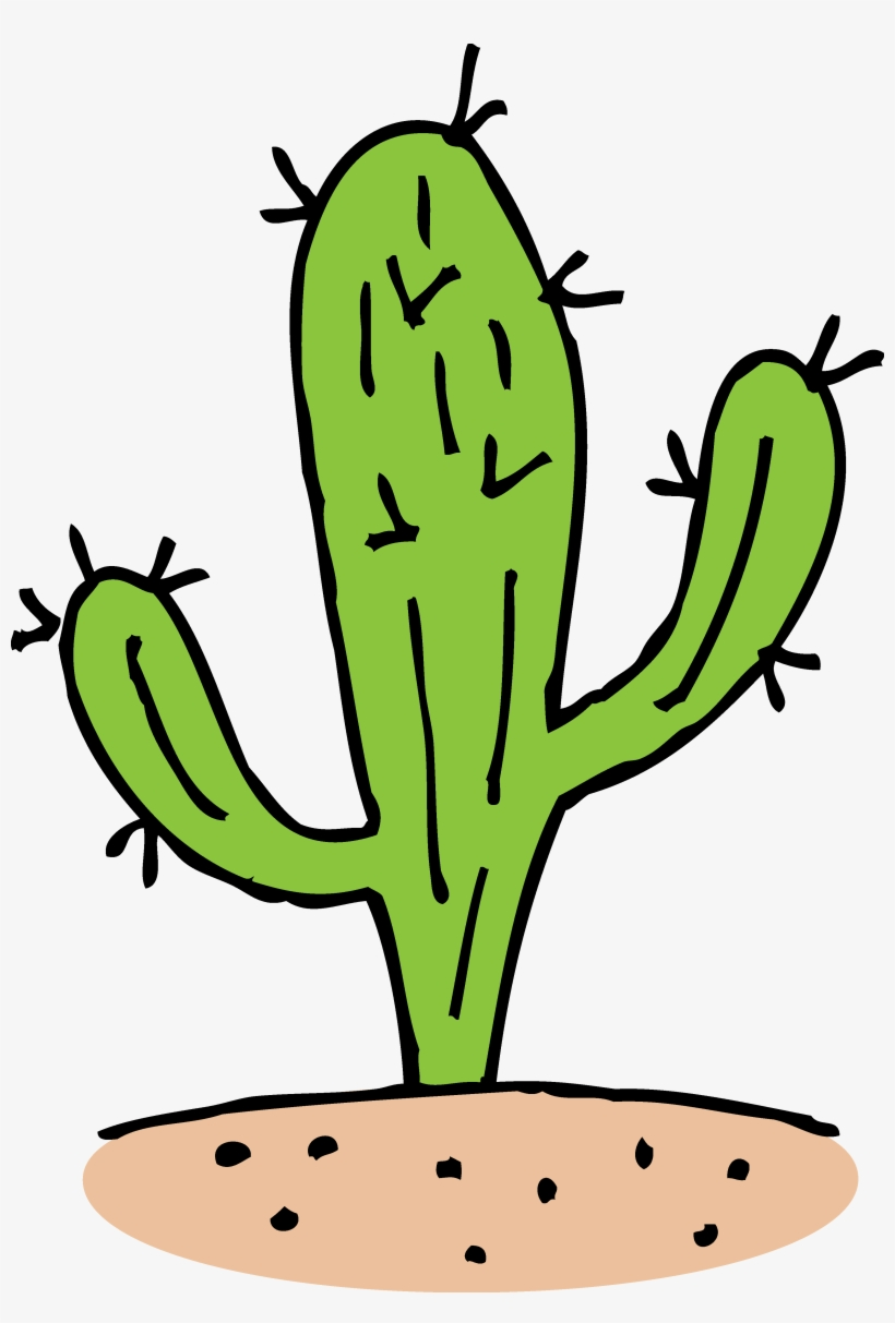 Cactus Clipart Single Cactus In Desert Clipart Transparent Png 830x1188 Free Download On Nicepng