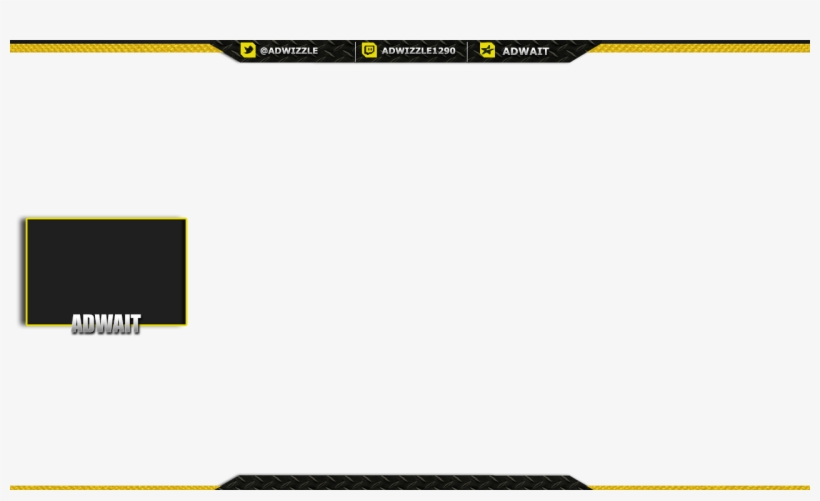 Adwait Twitch Overlay - Abstract Twitch Overlay Transparent