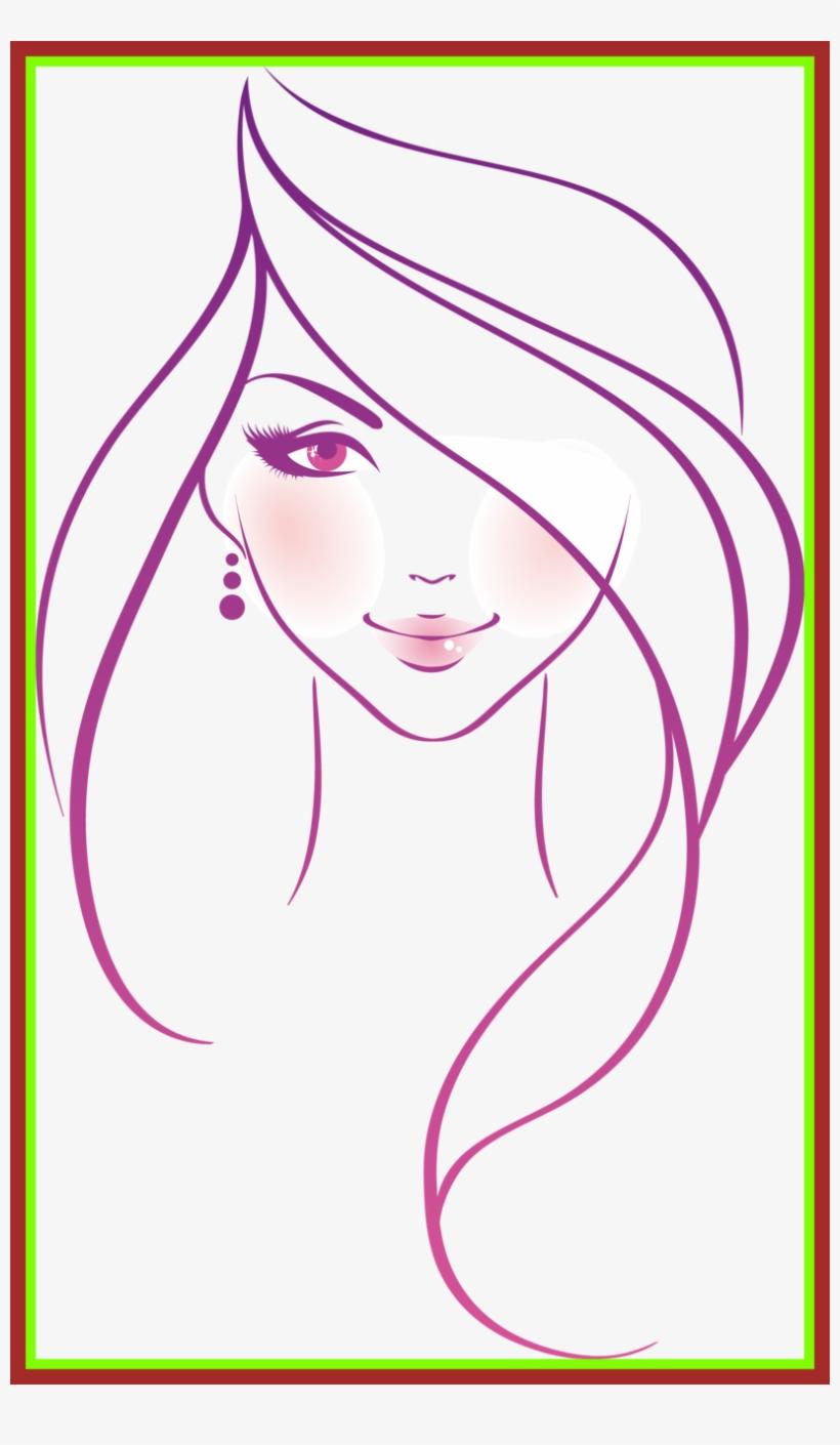 Barbie drawing barbie head drawing fascinating orig woman sketch png