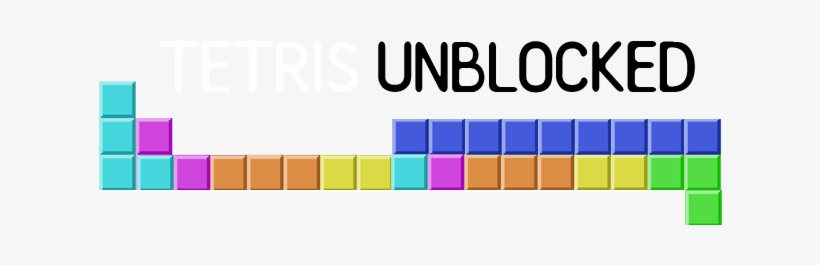 Tetris Unblocked Transparent PNG - 640x200 - Free Download