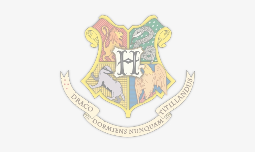 I Faded The Hogwarts Crest For The Background Of The Harry