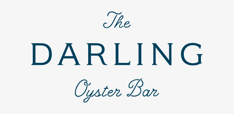 Patch Shell Logo - Darling Oyster Bar Logo Transparent PNG - 601x321