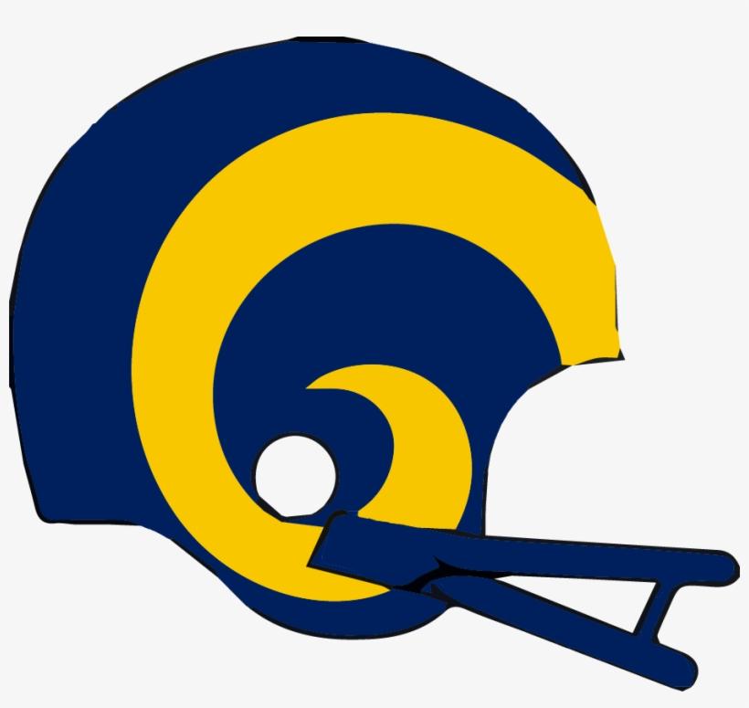 Known As Los Angeles Rams - Los Angeles Rams Helmet Logo ...