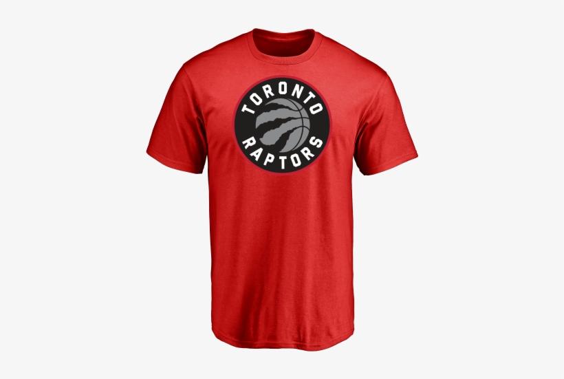 Toronto Raptor Logo Red T-shirt - T Shirt Raptors Transparent PNG ... 343726926