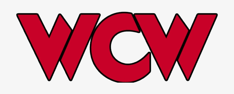 Wcw Red Logo - Wcw Monday Nitro Logo Png Transparent PNG