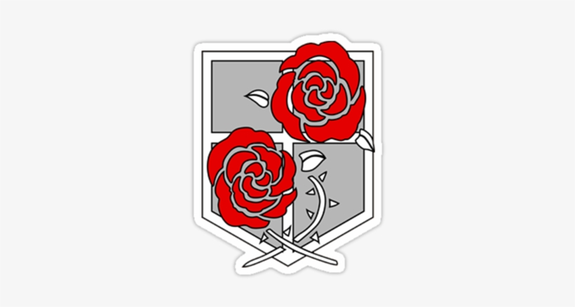 Attack On Titan Garrison Logo Transparent Png 375x360 Free Download On Nicepng