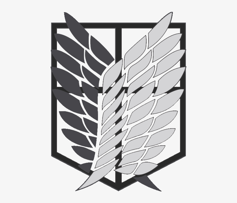 Attack On Titan Logo Drawing Transparent Png 500x620 Free Download On Nicepng