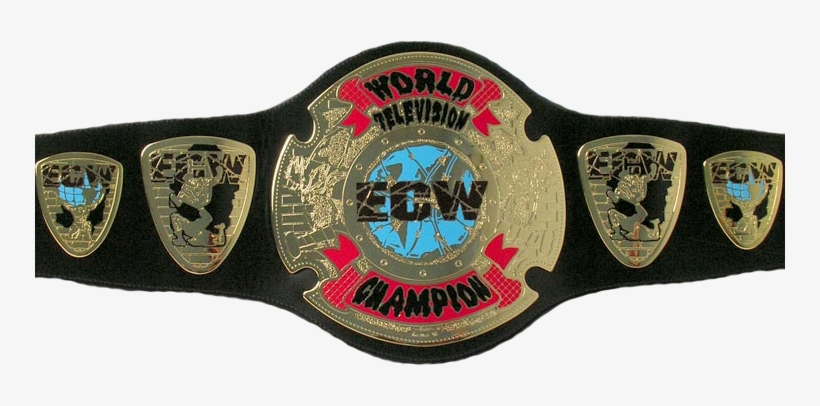 Ecw World Television Championship - Ecw Television Championship Transparent  PNG - 750x326 - Free Download on NicePNG