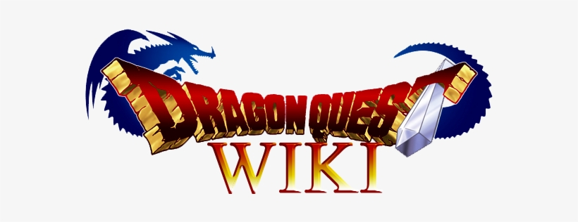 Dragon Quest Wiki Logo Dragon Quest Logo Font Transparent Png 600x250 Free Download On Nicepng
