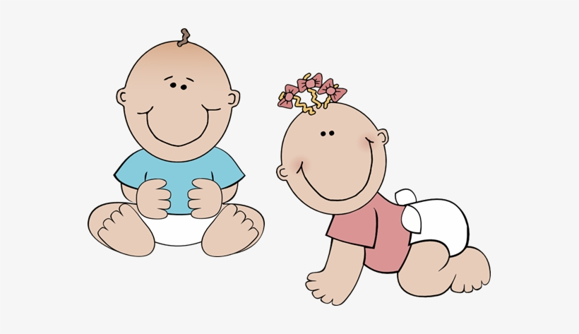 Royalty Free Stock Twin Baby Clipart Baby Twins Clip Art Transparent Png 571x393 Free Download On Nicepng