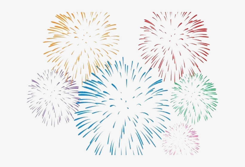 Fireworks On White Background Transparent Png 640x480 Free Download On Nicepng