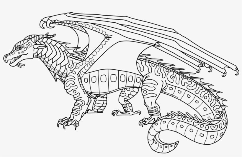 Fire Seawing Coloring Pages Free