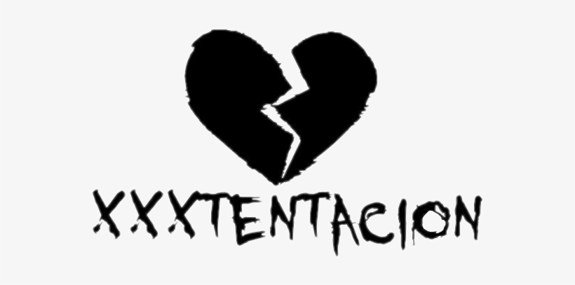 Xxxtentacion Broken Heart Png Transparent PNG - 559x327