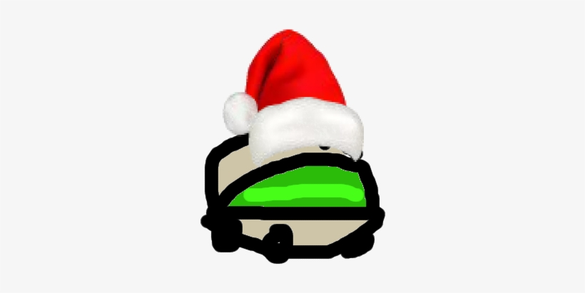 Pistachio Wearing Santa Hat For Christmas So Mlg And - Santa Claus
