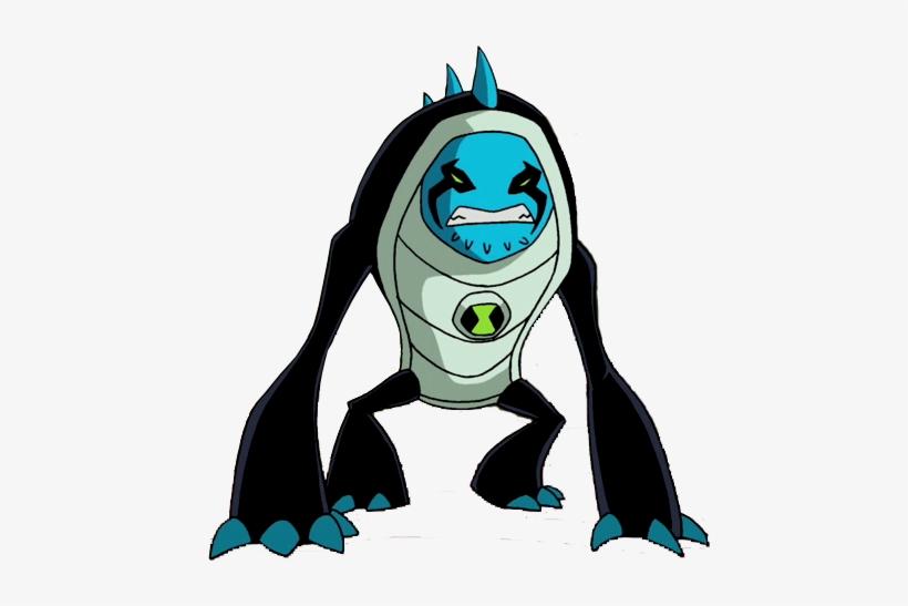Arcticguana - Ben 10 Omniverse Aliens Transparent PNG