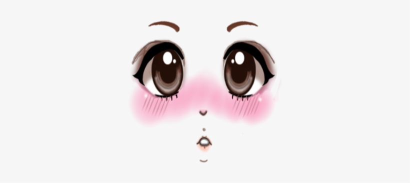 Anime Blush Collection Roblox Black And White Png Avatar Anime