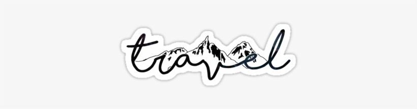 Travel Stickers By Lolosenese Travel Stickers Transparent Png 375x360 Free Download On Nicepng