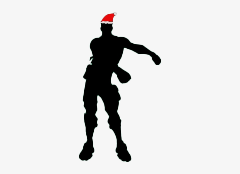 Floss Fortnite Christmas Siloet Png Image Fortnite Floss Dance Silhouette Transparent Png 630x630 Free Download On Nicepng